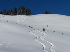 Skitour Graubünden Grüsch