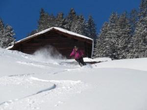 Ski mountaineering Grüsch Switzerland