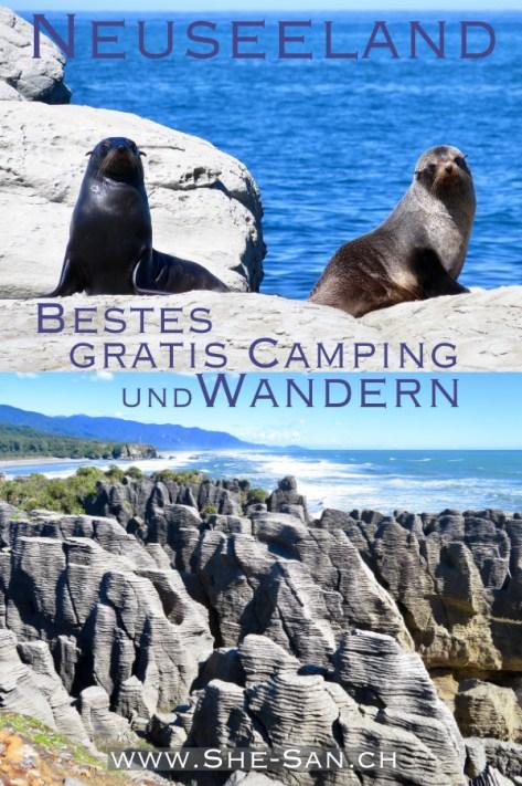 Beste Gratis Campingplätze und Wanderungen durch Neuseeland mit dem Campervan