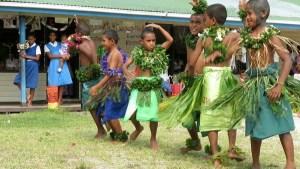 performing dances