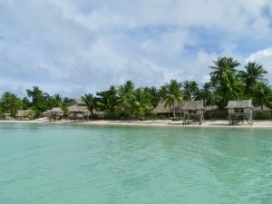 Kaboua and Tinaii's Terau Beach Bungalows