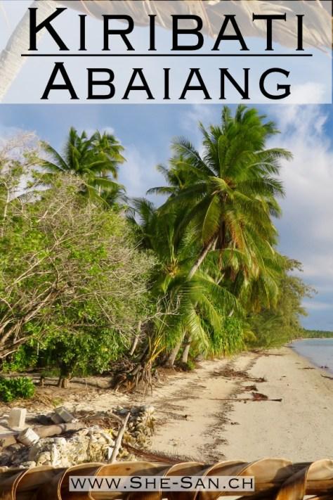 Kiribati's äusere Atolle - traditionelle Häuser und freundliche Menschen