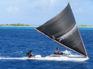 Ailuk Sailing canoe