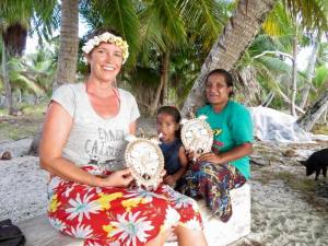 Beautiful Marshallese Hamimono Handicrafts