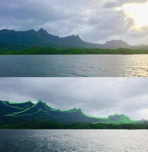 Sleeping Lady Kosrae