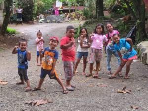 Children in Sokehs