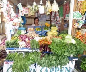 Vegetables Market Babak