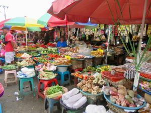 Der Markt in Ambon - Gemüse, Gewürze, ...