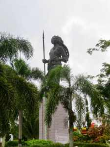 Statue of Christina Martha Tiahahu