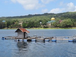 FAD und Moschee in Pasarwajo Bucht
