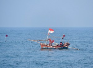 Fishermen near Bengkulu