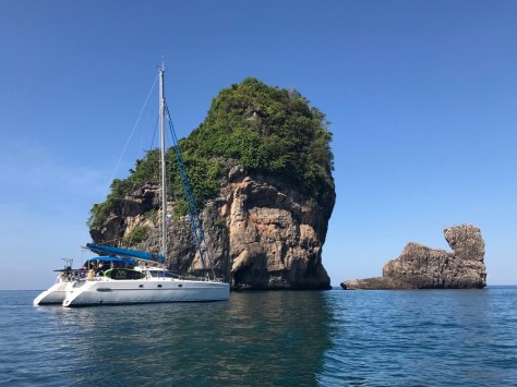 On Mooring in Nui bay