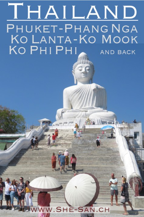 Sailing in Thailand from Phuket to Phang Nga, Ko Lanta, Ko Mook, Ko Phi Phi and Nai Harn