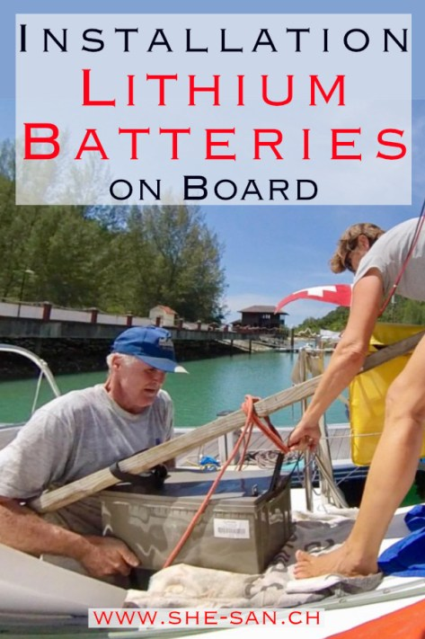 DIY Installation of Lithium Batteries on Board