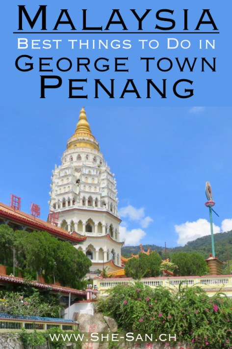 From Indonesia to Langkawi and Sightseeing in Georgetown Penang