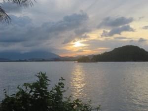 Sonnenaufgang über Langkawi
