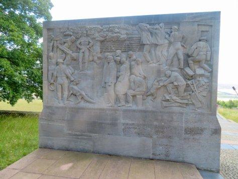 Tafel in der Gedenkstätte Buchenwald