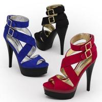 High Heel Eid Wear Strappy Shoes