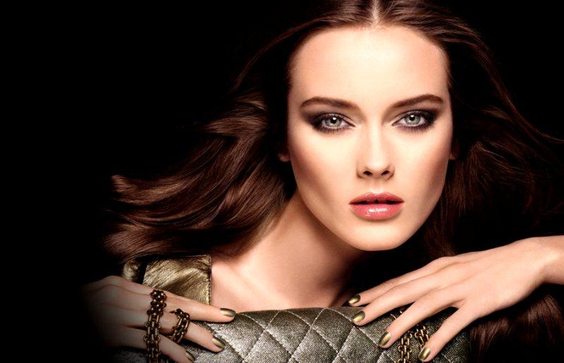 Jac Jagaciak For Chanel Beauty Fall 2011 Campaign By Solve