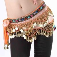 Belly Dance Waist Chain And Hip Scarf