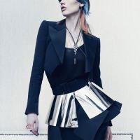 Abbey Lee Kershaw, Edita Vilkeviciute & Tom Cruise Cover W Magazine June 2012