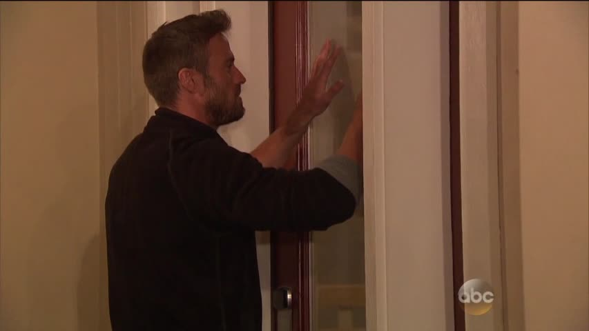 chad scraping door