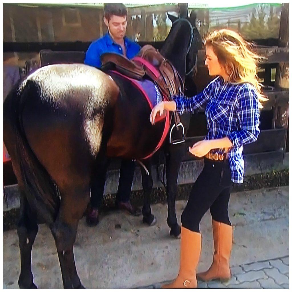 jojo and luke with horse