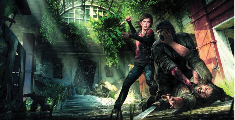 1-The Last of Us Stabbing