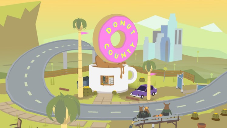 Donut County colorful art
