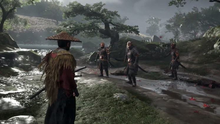 Ghost of Tsushima demo screenshot