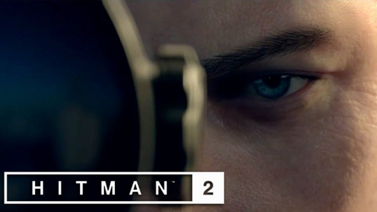 Hitman 2 Agent 47 closeup