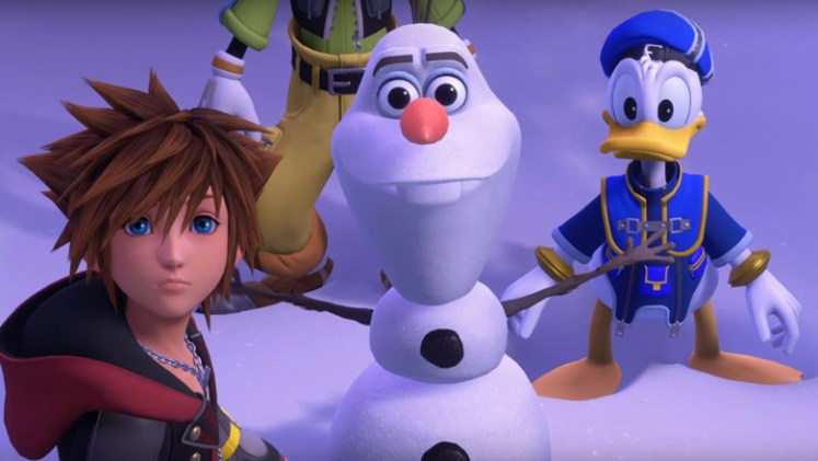 Kingdom Hearts 3 Frozen world