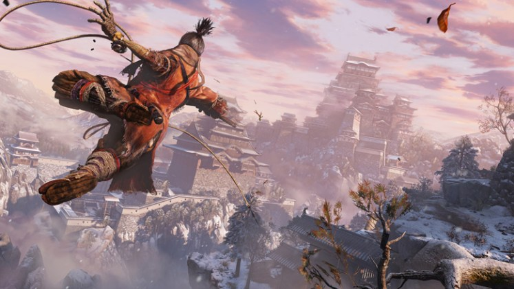 Sekiro: Shadows Die Twice poster