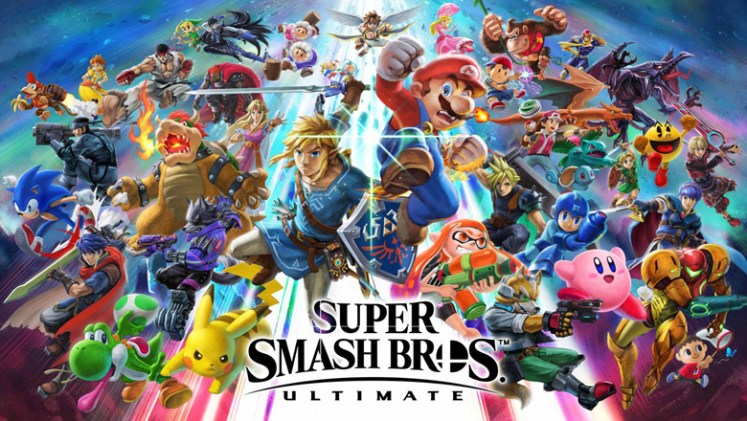 Super Smash Bros. Ultimate characters poster