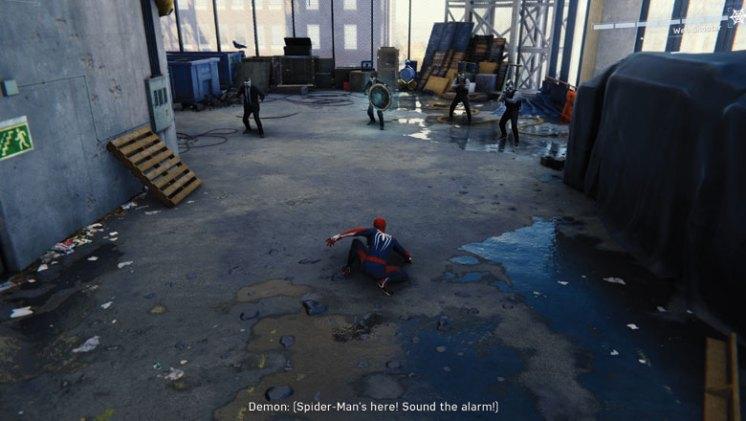 Spider-Man Review: Combat