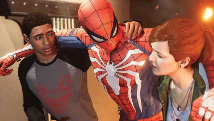 Spider-Man Review: MJ and Miles