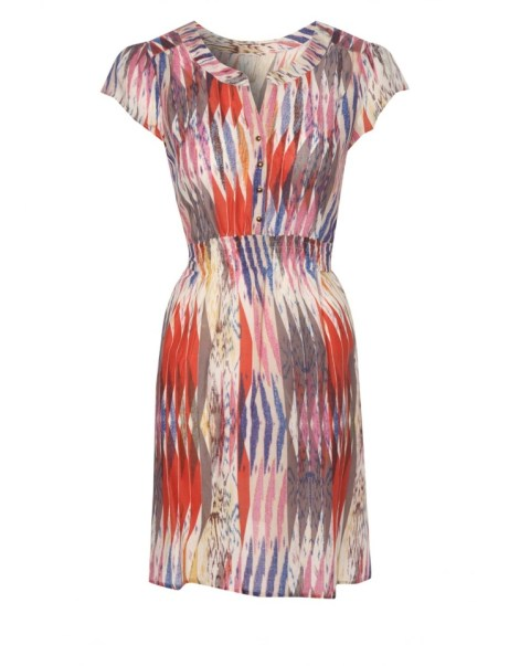 Womens Sheered Waist Dress £16 from Peacocks