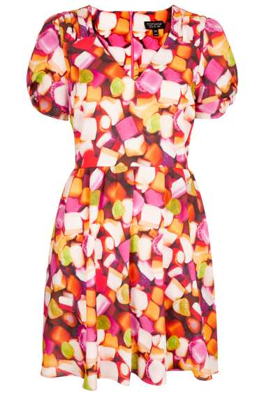 Sweetie Print Tea Dress 46 from Topshop
