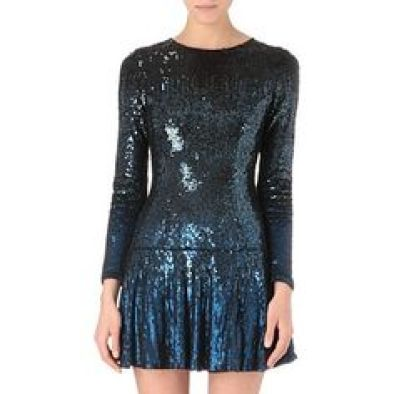 Gloss Sequined Mini Dress £300 from Needle and Thread at Selfridges