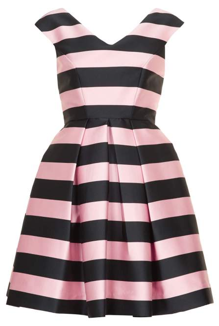 Stripe Prom Dress £80 from Topshop