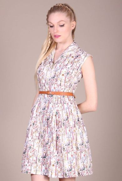 Rajaa Dress £49 by Louche from Fox and Feather