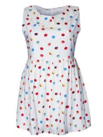 Molly Macaron Smock Dress £55 by Mod Dolly