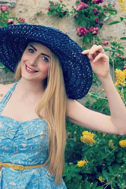 Laura Ashley | She and Hem | Retro Dresses | Straw Hats