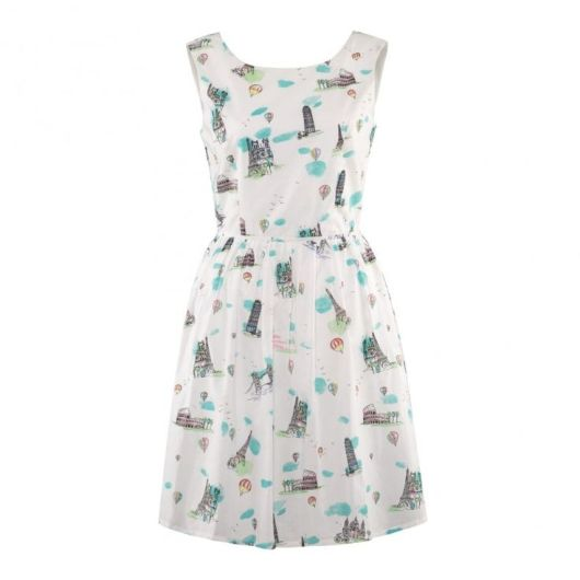 Amelie City Print Sundress £59.50 from Oliver Bonas
