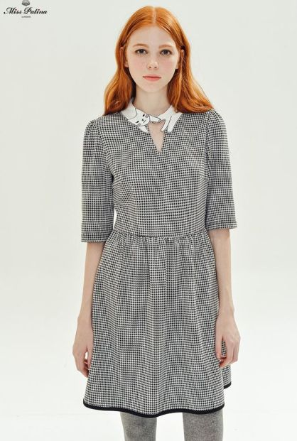 Love Cat Dress in Dogtooth £75.80 from Miss Patina