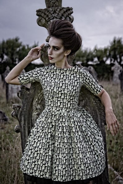 1950's Style Glow in the Dark Ghost Dress with Sleeve £84 from Silly Old Sea Dog