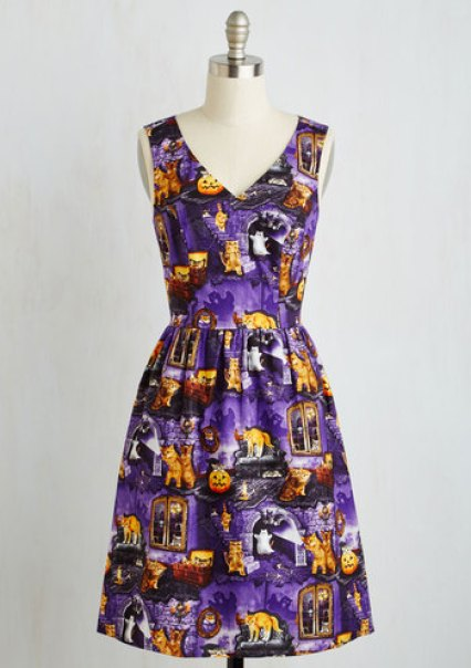Spirit in the Fright dress $53.99 from Modcloth