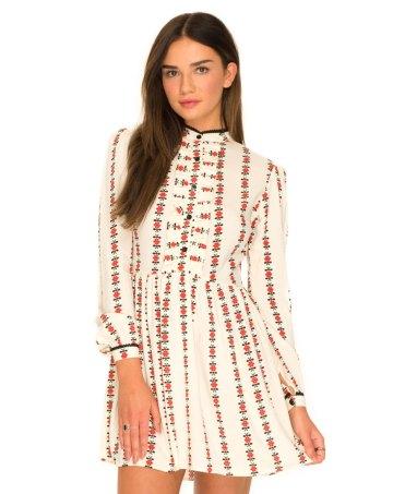 Verna Skater Dress in Dutch Floral £40 by Motel