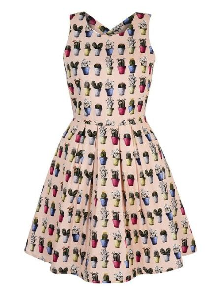 Cactus Print Skater Dress £65 from Yumi