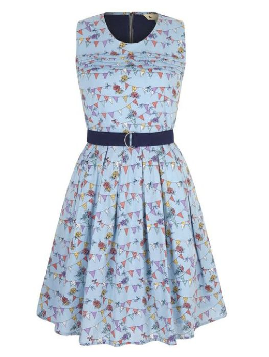 Bunting Print Day Dress £45 from Yumi